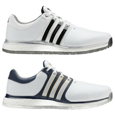 adidas Golf Mens 2019 Tour360 XT-SL Spikeless Leather Lace Up Golf Shoes