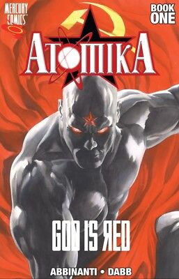 ATOMIKA Volume 1 GOD IS RED Graphic Novel