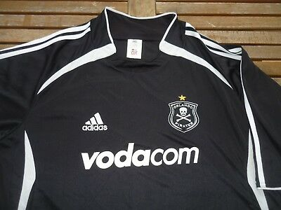 ORLANDO PIRATES adidas FOOTBALL SOCCER SHIRT JERSEY TOP 2XL XXLARGE