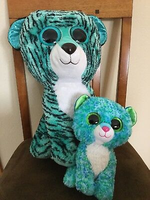 5d31a272081 LARGE HUGE GIANT TY TIGER Beanie Boo Exclusive
