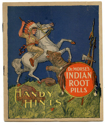 Dr Morses Indian Root Pills Advertising Booklet Morristown NY