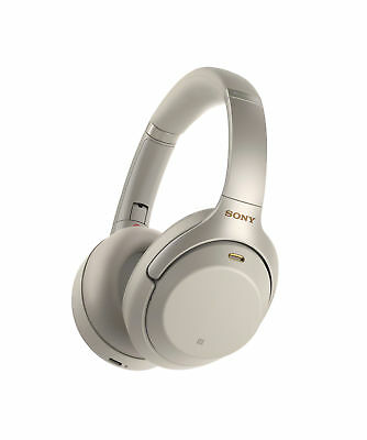 Sony WH1000XM3 Bluetooth Wireless Noise Canceling Headphones Silver WH-1000XM3/S