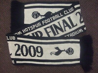 aaca8599f53 Tottenham spurs  2009 Carling Cup Final  Official Football Scarf  Superb  Look!