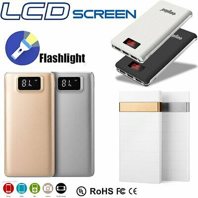 Ultrathin 80000mAh Portable External Battery Charger Power Bank for Cell Phone