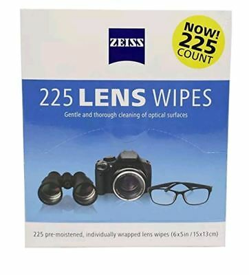 Zeiss Lens Wipes Pre-Moistened Cleaning Wipes Gentle Thorough Cleaning Optical