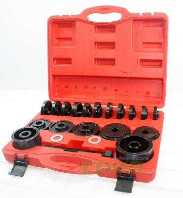 23pc FWD Front Wheel Drive Bearing Removal Adapter Puller Pulley Tool Kit