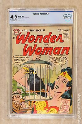 Wonder Woman (1st Series DC) #76 1955 CBCS 4.5