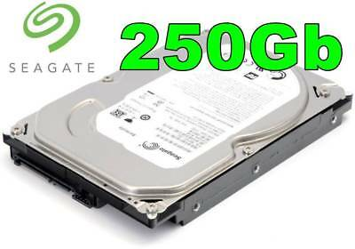 "Seagate 250GB 3.5"" Inch PC/Desktop SATA HDD Internal/Int Hard Disk/Disc Drive HD"