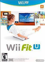 Wii Fit U Nintendo Wii U Exercise Work Out Game