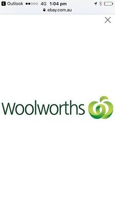 $10. woolworths gift card .