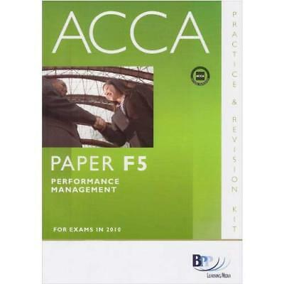 ACCA - F5 Performance Management: Revision Kit BPP Learning Media