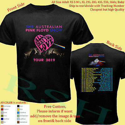 THE AUSTRALIAN PINK FLOYD SHOW TOUR Album Concert Shirt Adult S-5XL Kids Toddler