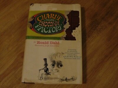 CHARLIE AND THE CHOCOLATE FACTORY by Roald Dahl, 1964 HC/DJ 1st Edition