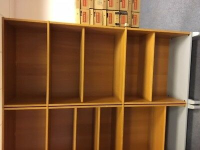 Ikea used office furniture job lot - File/bookcase units.  All in very condition