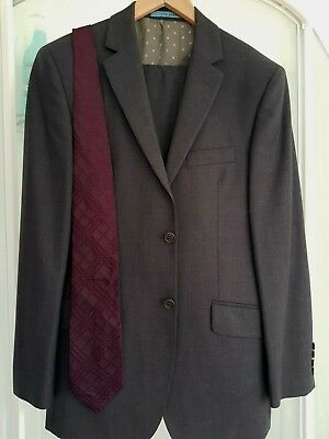 34cf143b06a3 auth mens ted baker elevated 2 piece suit uk 38R   paul smith tie PLEASE  READ