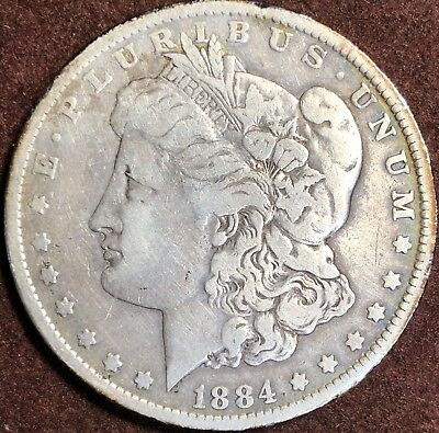Morgan Silver Dollar Culls Random Year (1878-1904)