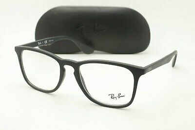 c9f856cef064d AUTHENTIC RAY BAN RB 5280 2034 Black Clear 51mm Frames Eyeglasses ...