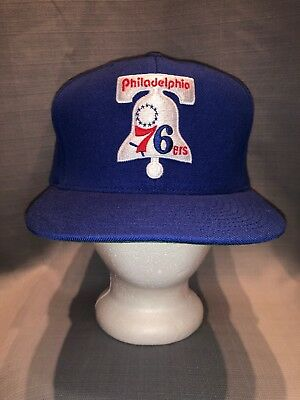 finest selection 745f1 a70d9 Philadelphia 76ers Mitchell   Ness Hardwood Classics Wool Solid 2  Adjustable Hat