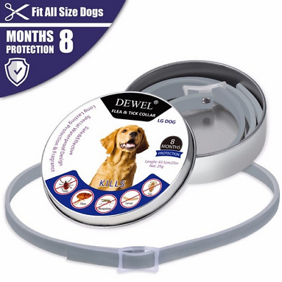 bayer Flea and Tick Collar for Large Dog and cat Over 18lbs 8 Month Protection
