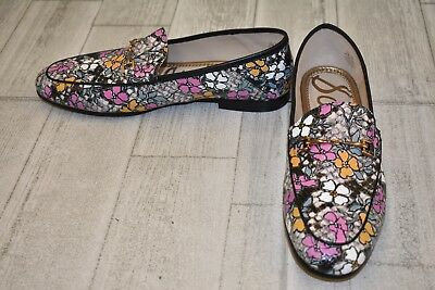 db21ffc5540 Sam Edelman Loraine Foral Loafers - Women s Size 9.5 M - Black Multi NEW!