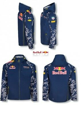 JACKET Rain Coat Red Bull Racing Formula One Team Mens Raincoat PUMA F1 NEW