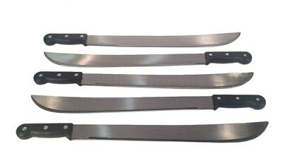 "LOT 5: Heavy Duty MACHETES 18"" inch - Survival Knives MACHETTES"