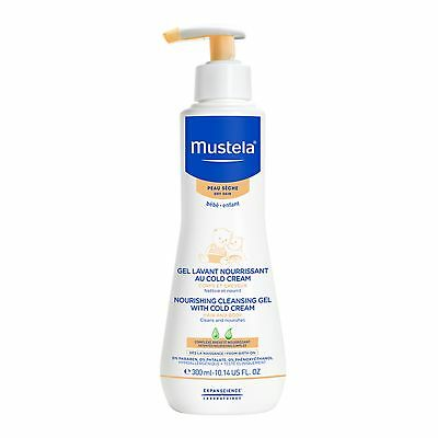 Mustela Cleansing Body Gel, Gentle Baby Wash with Natural Avocado Perseose,