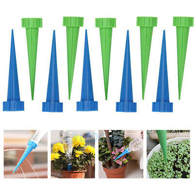 Automatic Garden Cone Watering Spike Plant Flower Waterer Bottle Irrigation S!