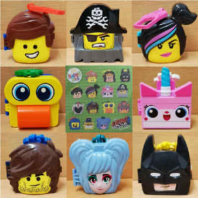 McDonalds Happy Meal Toy 2019 UK Lego Movie 2 Character Games - Various Toys