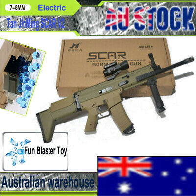 Tan JinMing SCAR V2 Water Gel Ball Blaster Toy Gun Mag-fed Shot Toy AU