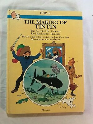 The making of Tintin, Hardback, 1983, very good condition, small foxing spots