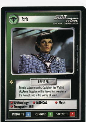Star Trek CCG Q-Continuum, Taris. Mt/Nr-Mt.