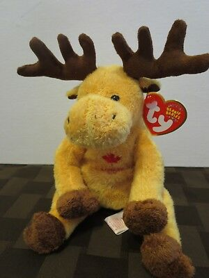 TY BEANIE BABIES Dominion the Canadian Moose dfc919af9f63
