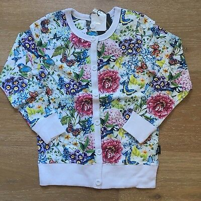 ROCK YOUR KID / BABY Country Garden Cardigan size 8 BNWT