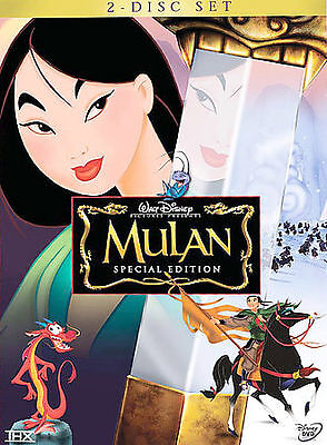 Mulan (DVD, 2004, 2-Disc Set, Special Edition) DISC IS MINT
