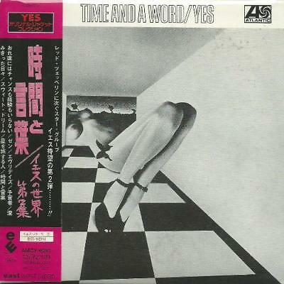 Yes - Time And A Word 2001 Hdcd Remastered Japan Mini Lp Cd