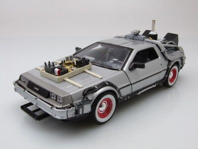 Lorean Ritorno in Die Futuro Back To The Future Parti 3 Modello Auto 1:24 Welly