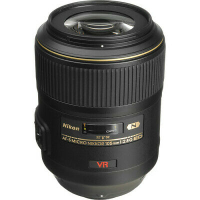Nikon 105mm f/2.8G ED-IF AF-S VR Micro-Nikkor Close-up Lens