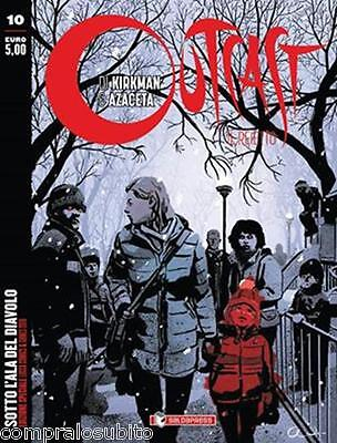 OUTCAST N.10 VARIANT COVER Lucca Comics 2016 Edition limited Robert Kirkman