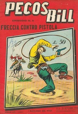 PECOS BILL 6 Racconti of the West Editions ALPE 1956