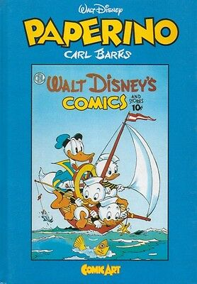 PAPERINO # 3 Carl Barks Comic Art IF Hard cover Walt Disney Copy Numbered