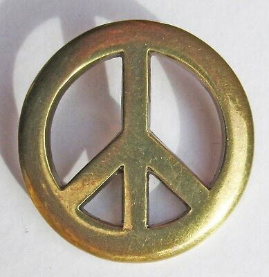 Badge broche peace and love métal coulé pins plaque vis métallique Cast Metal