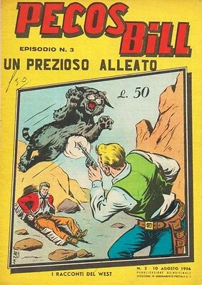 PECOS BILL 3 Racconti of the West Editions ALPE 1956