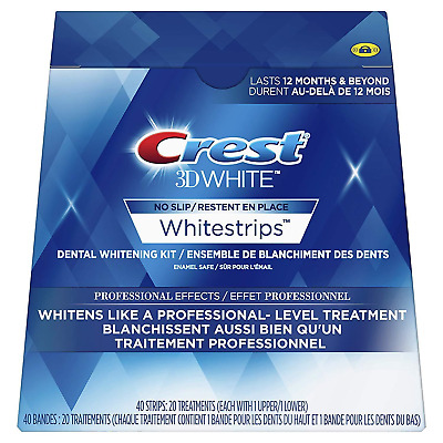 Crest3D Whitening Strips Professional effects - 5, 10, 15, 20 days Whitening KIT