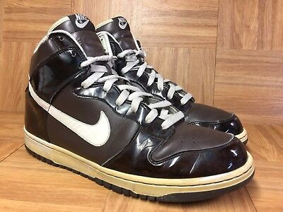 competitive price cad4b ce71f NICE🔥 Nike Dunk High PREMIUM SB Woodgrain Baroque Birch Leather 12  312786-223