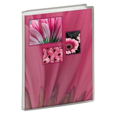 "Pink Soft Cover Slip-In Photo Album Holds 36 6x4"" (10x15cm) photos"