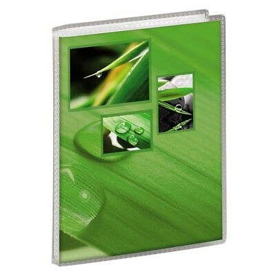 "Green Soft Cover Slip-In Photo Album Holds 36 6x4"" (10x15cm) photos"