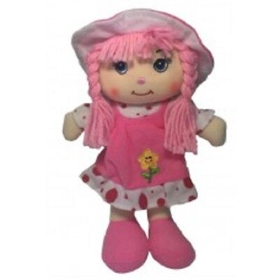 Ivy Rag Doll Pink 25cm by Teddy & Friends New with Tag