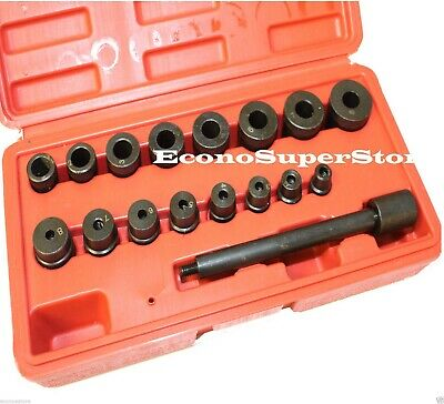 17PC Universal Clutch Alignment Tool Kit Mechanics Car Clutch Aligning Align