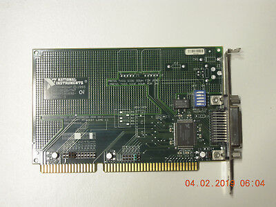 National Instruments AT-GPIB/TNT ISA IEEE-488 interface card ASSY181830-REV. D